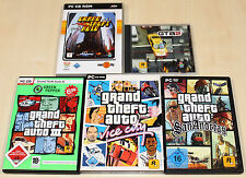 5 pc jeux collection-GTA Grand theft 1 III 2 auto vice city & san andreas