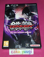 TEKKEN TAG TOURNAMENT 2 WE ARE TEKKEN EDITION SONY PS3 TRES BON ETAT FRANCAIS