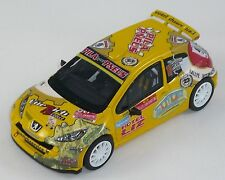 PEUGEOT 207 S2000 GIACOMELLI RALLY SAN MARTINO1/43 SCALE  MODEL CAR HANDMADE