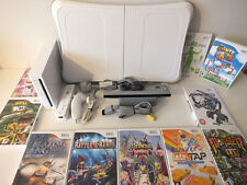 Wii Console + Wii Fit Balance Board + 10 Games +- FREE UK UPS DELIVERY