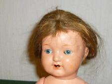 Alte SCHILDKRÖTPUPPE 310/35 Schildkröt Puppe mit Haaren 36cm Puppen Dolls Doll