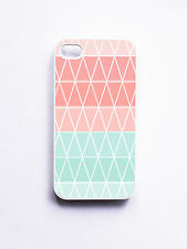 iPhone 4/ 4S Case- Geometric Cupcake