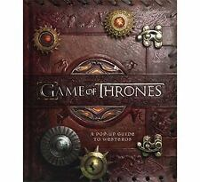 Game of Thrones: A Pop-Up Guide to Westeros - New - Sealed