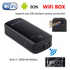 Wireless Wifi Box To USB Endoscope Inspection Camera /Microscope For IOS Android