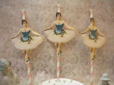 Cup Cake / Dessert Toppers Ballerinas (6)