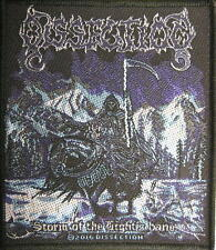 "DISSECTION PATCH / AUFNÄHER # 3 ""STORM OF THE LIGHT'S BANE"""