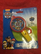 Nickelodeon Paw Patrol Whistle With Lanyard Musical Instrument BRAND NEW