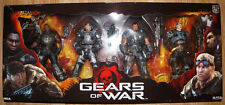 "NECA GEARS OF WAR DELTA SQUAD 7"" INCH ACTION FIGURE BOX SET 4-PACK 52043"