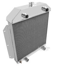 3 Row Aluminum Radiator For 1949 Ford Shoe Box Radiator Flathead Config