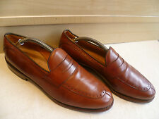 Allen Edmonds full leather penny loafer UK 8.5 42.5 US9 mens vtg punched slip on