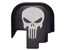 Tactical Skull Design Rear Cover Plate for Smith & Wesson S&W M&P Shield