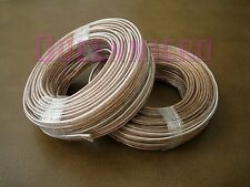 2 Rolls x 50Ft 12AWG Gauge Quality Speaker Wire Home Car Audio Cable Total 100FT