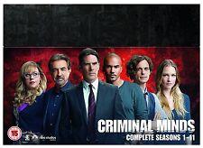 Criminal Minds Box Set Seasons 1-11 DVD Region 2,4 PAL (Not US)