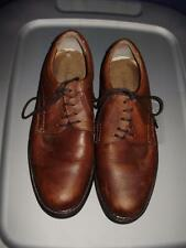 Mens leather shoes-GH Bass & Co-Size 9-Light brown-Spokane-Worn ONCE