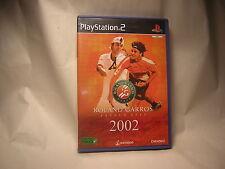Playstation 2 Roland Garros 2002 PS2