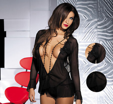 Donne sexy / SISSY LINGERIE BODYSUITS Babydoll Nuovo Stile 164 UK Venditore