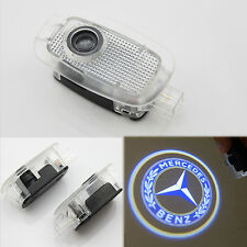 2x LED Door Courtesy Laser Projector Light Blue for Mercedes-Benz S W221 W216