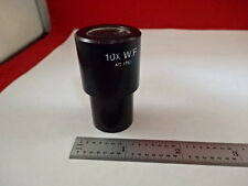 MICROSCOPE PART EYEPIECE OCULAR AO AMERICAN 176A 10X WF OPTICS AS IS #M4-B-12