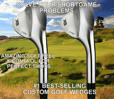#1 PGA BLACK MAGIC (SET OF 3) 50 52 54 56 58 60 64 68 DEGREES LOB GAP SAND WEDGE