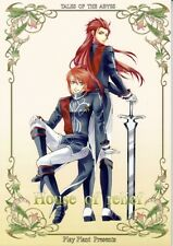 Tales of the Abyss YAOI Doujinshi Comic Asch x Luke House of Relief Play Plant