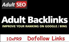 Your Escort, Dating, Gambling, Pharma, Adult Site on 10 PR9 Sites, Dofollow! SEO