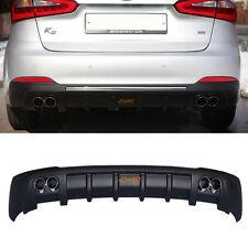 Rear Bumper Dual Type Diffuser 1Set (Fit:KIA Forte Cerato K3 2014 2015+)