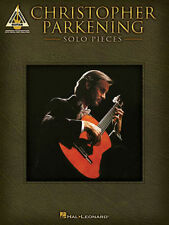 Christopher Parkening Solo Pieces Guitar Recorded Versions Tab Book NEW!