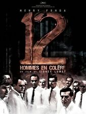 Affiche Pliée 40x60cm 12 HOMMES EN COLÈRE 1957 Sidney Lumet, Henry Fonda R2007