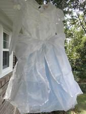 Disney Store CINDERELLA WEDDING DRESS COSTUME NEW XS 4/5 CUTE