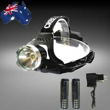 CREE XML-T6 LED Flashlight Torch Headlight 800LM 18650 + Charger TFLIT6301+EPLUG