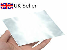 High Purity 99.9% Pure Zinc Zn Sheet Plate 100 x 100 x 0.2mm for Science lab