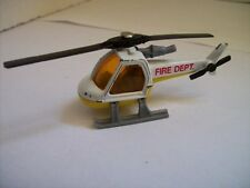 ELICOTTERO HELICOPTER FIRE DEPT 1:110 MATCHBOX ( L2-8 )