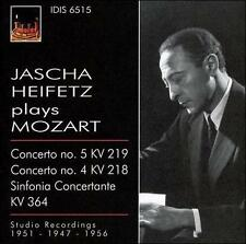 Mozart / Heifetz / Primrose - Violin Cons [CD New]