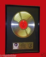 VTG 1980s The Doors Jim Morrison Best of Elektra Platinum Record Award Plaque