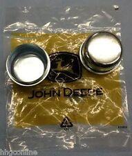 (2) John Deere Front Yoke/Caster DUST COVER CAPS/ 737 757 777 797 997 Z-Traks