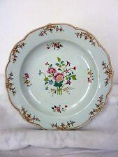 Belle Assiette Creuse Porcelaine Chine IMARI Famille Rose QIANLONG 18eme
