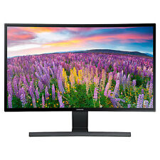 "Samsung S27E510C 27"" Curved LED Monitor High Glossy Black Finish Full 1080p"