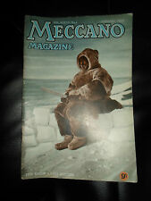 Collectable Vintage MECCANO MAGAZINE January 1952 Vol XXXVII NO. 1+ Illustrated