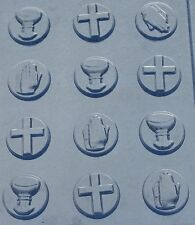 COMMUNION MINT BITES CHOCOLATE CANDY MOLD MOLDS COMMUNION CONFIRMATION PARTY