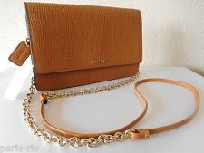 New COACH Madison Embossed Leather Boxy Crossbody Shoulder Bag Clutch
