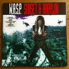 "Wasp - Sunset & Babylon 7"" Vinyl In Poster Sleeve"