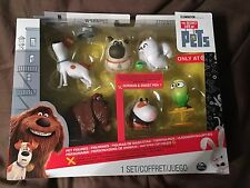The Secret Life of Pets Exclusive Collectable 6 Figure Set NEW