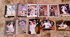 JIM THOME INDIANS 2CARD PANEL 1997 PINNACLE + ZENITH PROMO + 8 INSERTS W/GOLDS