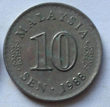 Parliament Series 10 sen coin 1988 (B)