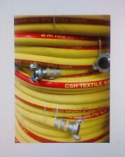 3/4 inch X 50 ft. Jackhammer Air Hose Assembly CSH Yllw/Red with AM6 each end