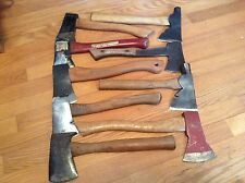 Vintage Hatchet Lot Of 9 ,  Genuine Plumb Boys Scaut. Bridgeport,etc...