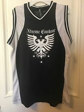 XTREME COUTURE Mens Jersey Size Small Black & White NEW 100% Authentic Shirt