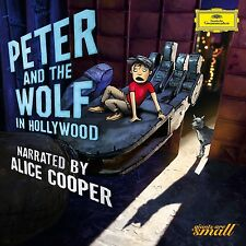 Peter and the Wolf a Hollywood (engl. Version) CD NUOVO Prokofieff, Serghei