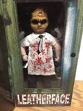 "Living Dead Dolls TEXAS CHAINSAW MASSACRE 12"" LEATHERFACE Doll by Mezco"