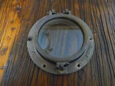 Perko #5 Antique Bronze Porthole  Portlight  Nautical Decor Sailboat Compac 23